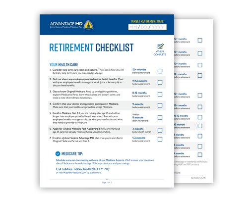 Retirement Checklist