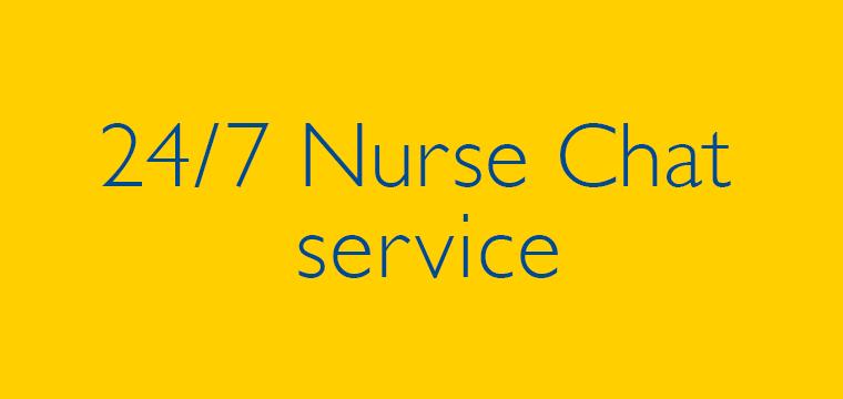 24/7 Nurse Chat service